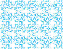 Blue patterns backgrounds. Wallpaper textures and flowers background blue colours Stock Image