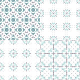 Blue Patterns Royalty Free Stock Photo