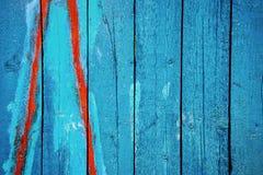 Blue peelin paint Stock Photography