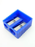 Blue Pencil Sharpener Royalty Free Stock Images