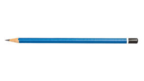 Blue pencil Stock Photo