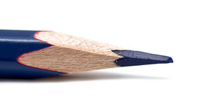 Blue pencil Stock Image