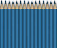 Blue pencils.Background. Some blue pencilsisolated on white.Background Royalty Free Stock Image