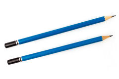 Blue pencils Royalty Free Stock Image