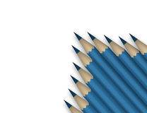 Blue pencils Royalty Free Stock Photography