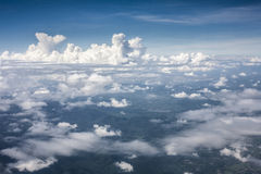 Blue perfect sky mountain of clouds Royalty Free Stock Photos