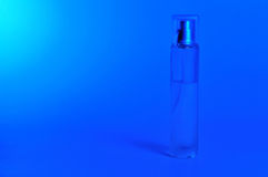 Blue perfume Stock Photos