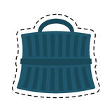 Blue pet carrier transport dotted. Illustration eps 10 Royalty Free Stock Photo