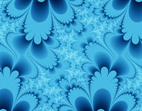 Blue Petals Royalty Free Stock Photos
