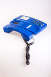 Blue phone Royalty Free Stock Photos