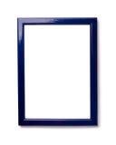 Blue photo frame Stock Photos
