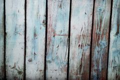 Blue photo painted wood background. Ideal for products, children, old things royalty free stock photography