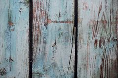 Blue photo painted wood background. Ideal for products, children, old things royalty free stock image