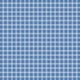 Blue picnic checkered tablecloth. Vector illustration of blue picnic checkered tablecloth Stock Image