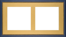 Blue Picture frame Royalty Free Stock Photos