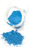 Blue pigment Royalty Free Stock Photography