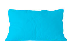 Blue pillow Royalty Free Stock Image