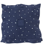 Blue pillow Royalty Free Stock Photo
