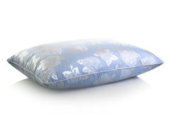 Blue pillow Stock Image