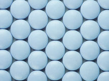 Blue pills Royalty Free Stock Photos