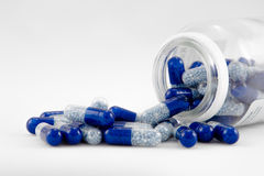 Blue pills Royalty Free Stock Image