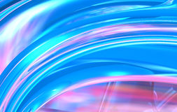 Blue and Pink Royalty Free Stock Image