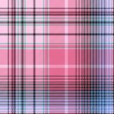 Blue pink abctract check plaid seamless pattern. Vector illustration Stock Photography