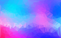 Blue and pink Abstract polygonal background Royalty Free Stock Image