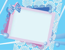 Blue pink background Royalty Free Stock Image