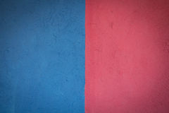 Blue and pink color wall. Royalty Free Stock Images