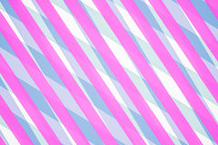 Blue and Pink Computer Generated Abstract Geometric Pattern Stock Photo