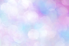 Blue and Pink Glittery Background Texture. Colorful pink and blue glitter bokeh, soft background texture Royalty Free Stock Image