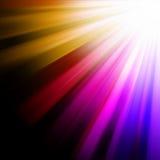 Blue, pink, orange luminous rays. EPS 8 Royalty Free Stock Image