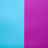 Blue and pink paper background. Paper background made of two blank of paper, complementary colors pantone Royalty Free Stock Images