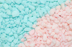 Blue and pink pastel stone gravel texture background Stock Image