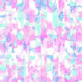 Blue and pink,purple abstract oil paint digital art pastel col. Or,sweet color background vector illustration