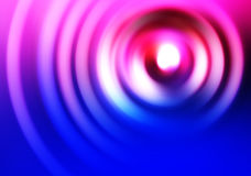 Blue and pink swirl illustration background Royalty Free Stock Image