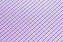 Blue and pink tartan or plaid background. Blue and pink tartan or plaid background Royalty Free Stock Photography