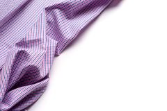 Blue and pink tartan or plaid  on white background. Blue and pink tartan or plaid  on white background Royalty Free Stock Photography