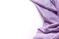Blue and pink tartan or plaid  on white background. Blue and pink tartan or plaid  on white background Royalty Free Stock Images