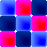 Blue and pink tiles Stock Photo