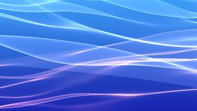 Blue pink wave background Stock Photo