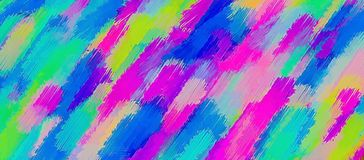 Blue pink yellow and purple painting texture abstract Stock Image