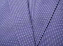 Blue Pinstriped Suite Jacket Royalty Free Stock Photos