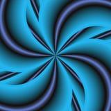 Blue Pinwheel Stock Photography
