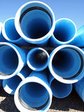 Blue Pipe Stock Images