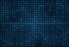 Blue pixel mosaic background Stock Photo