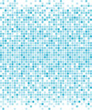 Blue pixels background Royalty Free Stock Photo