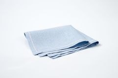 Blue place mat Royalty Free Stock Photos