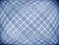 Blue Plaid. Computer generated blue plaid background Stock Photography